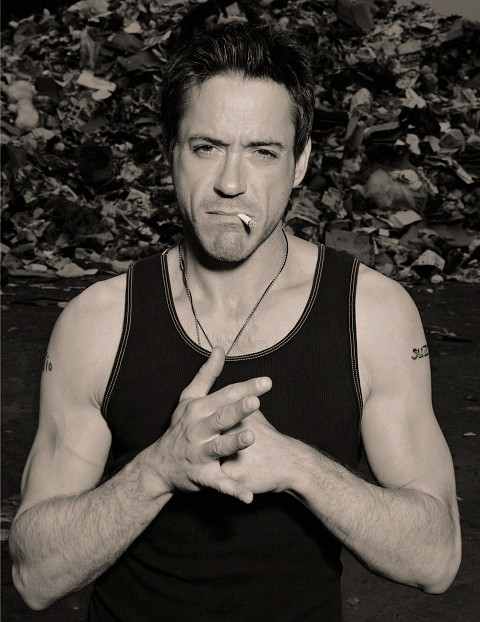 RDJ is smoking . . . hot